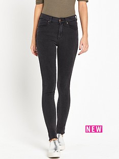 dr-denim-lexy-skin-tight-high-waist-jean-dark-grey