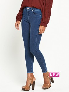 miss-selfridge-lizzie-mid-wash-frayed-hem-jeans