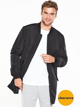 v-by-very-longline-bomber-jacket