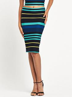 miss-selfridge-stripe-pencil-skirt