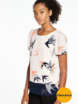 oasis-bird-print-patched-formal-t-shirtnbsp