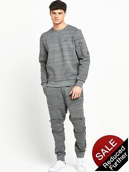 g-star-raw-batt-zip-detail-crew-sweatshirt