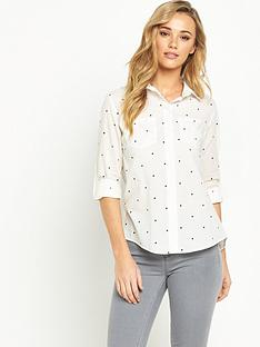 oasis-star-print-cotton-shirt