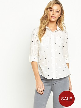 oasis-star-print-cotton-shirt