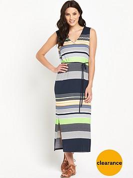 oasis-sashiko-stripe-slip-dress