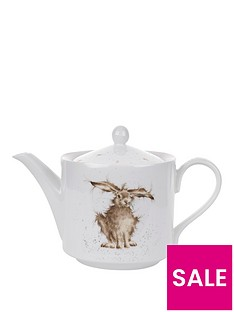 royal-worcester-wrendale-hare-teapot