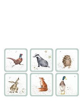 portmeirion-wrendale-coasters-ndash-set-of-6