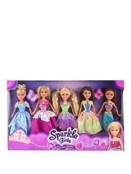 sparkle-girlz-set-of-5-fairytale-dolls