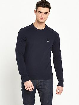 original-penguin-penguin-crew-neck-knitted-jumper