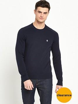 original-penguin-penguin-crew-neck-knitted-jumper