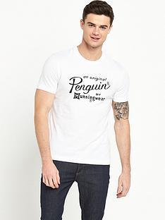 original-penguin-penguin-script-logo-t-shirt