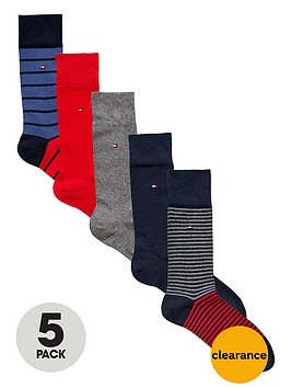 tommy-hilfiger-gift-set-ofnbspsocks-5-pack