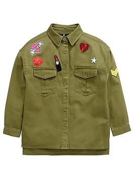 v-by-very-girls-oversizednbspbadge-applique-shacket