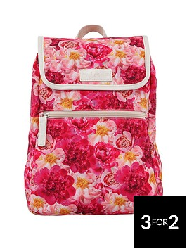 myleene-klass-peonies-print-mini-backpack