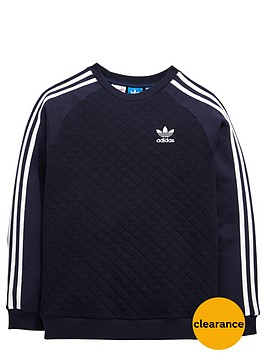 adidas-originals-older-boys-quilted-crew