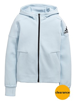 adidas-originals-older-girls-zipped-znenbsphoodie