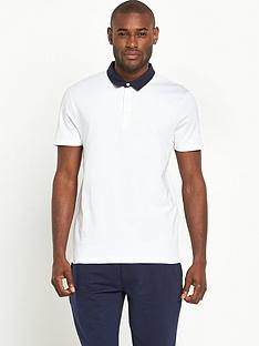 v-by-very-short-sleeve-woven-collar-polo