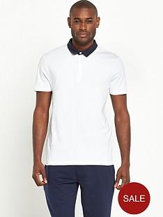 v-by-very-short-sleeve-woven-collar-polo