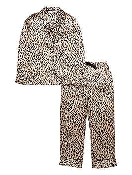 v-by-very-girls-satin-leopard-pyjamas