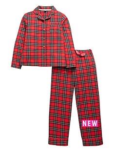 v-by-very-girls-tartan-pyjamas