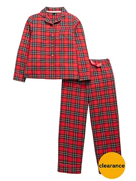 v-by-very-girls-tartan-pyjamas