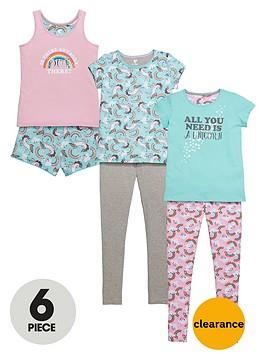 v-by-very-girls-love-unicorn-pyjamas-set-6-piece