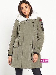 replay-replay-lined-parka