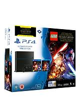 1Tb Console with Lego Star Wars and Optional Extra Controllor and 365 days PSN Subscription