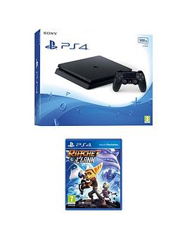 Photo of Playstation 4 500gb console with ratchet and clank and extra controller and 365 days psn subscription