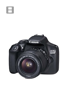 canon-eos-1300d-slr-camera-inc-ef-s-18-55mm-f35-56-non-is-dc-iii-lensnbspsave-pound30-with-voucher-code-mjwth
