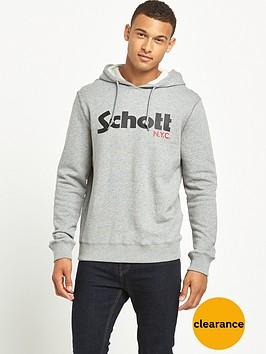 schott-logo-hoodie