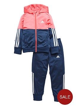 adidas-younger-girls-poly-tracksuit