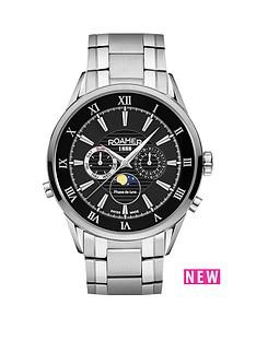 roamer-superior-black-dial-moonphase-stainless-steel-bracelet-mens-watch
