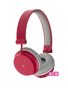 kitsound-metro-bluetooth-on-ear-headphones-red