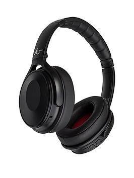 kitsound-immerse-noise-cancelling-over-ear-wireless-headphones-black