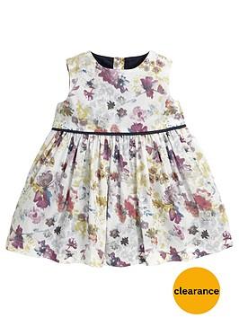 mamas-papas-mamas-amp-papas-watercolour-print-party-dress