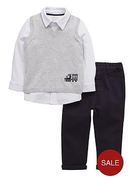 mamas-papas-mamas-amp-papas-3-pack-shirttank-amp-trousers-set