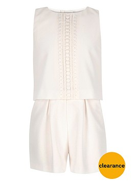 river-island-girls-double-layer-lace-trim-playsuit