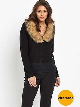 joe-browns-freestyle-faux-fur-cardigan