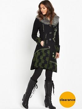 joe-browns-funky-faux-fur-trim-cardigan