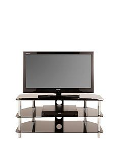 Darcy Glass and Chrome TV Stand - Holds up to 34 Inch TV