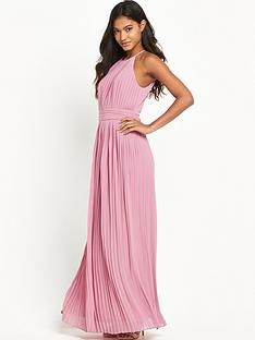 tfnc-serene-pleated-maxi-dress