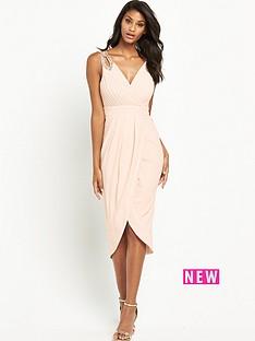 tfnc-dora-embellished-wrap-midi-dress