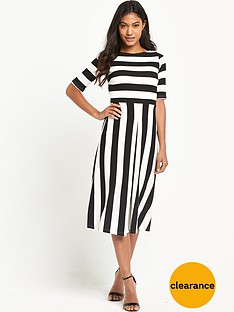 tfnc-maria-striped-midi-dress
