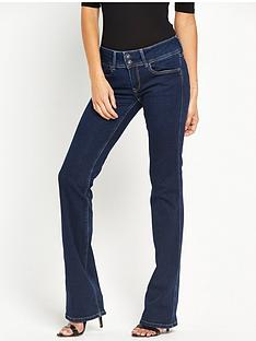 pepe-jeans-grace-mid-rise-bootcut-jean