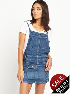 pepe-jeans-pepe-indie-denim-dungaree-skirt