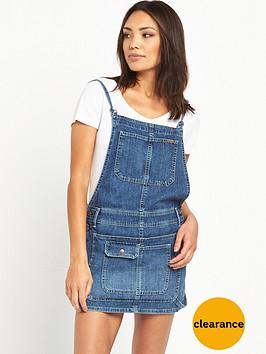 pepe-jeans-pepe-indie-denim-dungaree-skirt