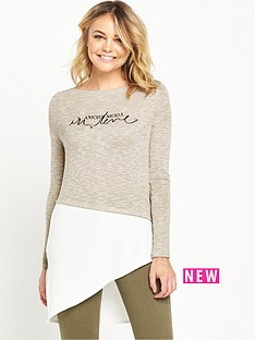 river-island-long-sleeve-asymmetric-top