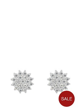 love-gem-sterling-silver-cubic-zirconia-cluster-earrings