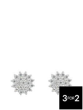 love-gem-sterling-silver-cubic-zirconia-cluster-earrings